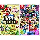 Nintendo New Super Mario Bros. U Deluxe Switch [Importación italiana] + Mario Kart 8 Deluxe