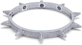 iced out spike bangle
