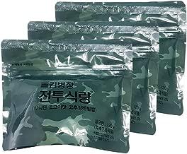 Korean Military MRE Bibimbap Spicy Beef Rice Food 120g/3pack