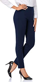 Tapata Women's Skinny Dress Pants for Office Work Stretchy High Waist Business Career Pants