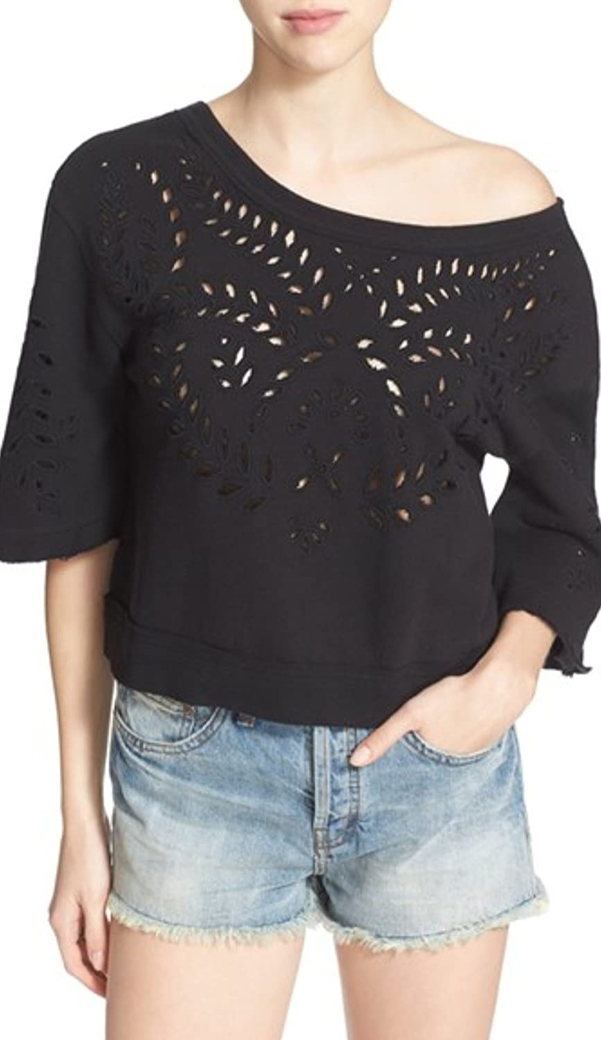 Free People French Terry Crumpet Pullover