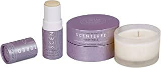 Scentered I WANT TO SLEEP WELL Aromatherapy Balm Stick & Candle Gift Set - Lavender, Chamomile & Ylang Ylang Blend - Actively Supports Bedtime Relaxation, Calmness & Restful Sleep