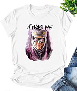 Tell Cersei It was Me Olenna Tyrell Shirt Game Thrones T Shirt Graphic Summer Tops Tees Gifts