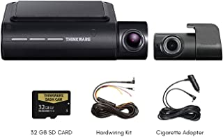 Thinkware F800 PRO 2-Channel Bundle 1080P FHD WiFi Rearview Camera | 32GB SD Card | Cigarette Lighter Adapter Cable & Hardwiring Kit Included