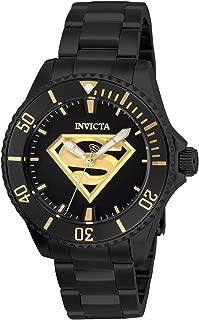 DC Comics Automatic Black Dial Ladies Watch 26899