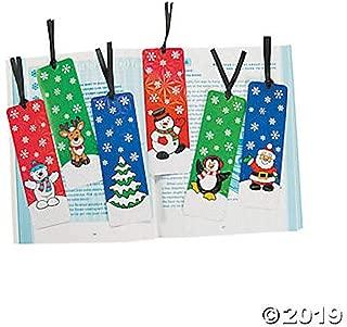 Fun Express Holiday Bookmarks Activity (2 Dozen) - Bulk