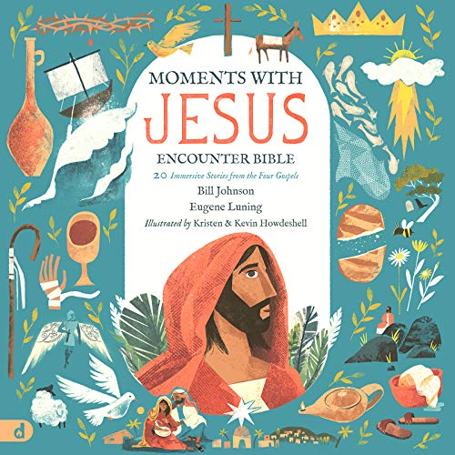 The Moments with Jesus Encounter Bible: 20 Immersive Stories from the Four Gospels