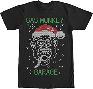 Gas Monkey Men's Ugly Christmas Sweater T-Shirt