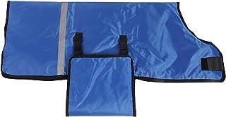Jarchii [mascherine mascherine ] Mucca abbigliamento cappotto di tela cappotto caldo di mucca, mucca bambino (blu)