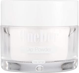 OneDor Nail Dip Dipping Powder – Acrylic Color Pigment Powders Pro Collection System, 1 Oz. (Clear)