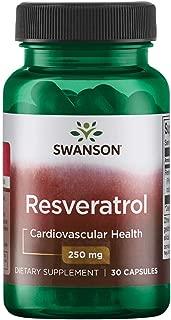 Swanson Resveratrol 250 250 Milligrams 30 Capsules