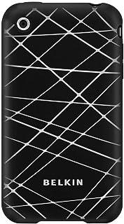 Capa para iPhone 3G - Belkin Grip Vector - Silicone Preto/Branco - F8Z474-BKC
