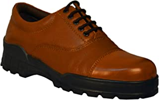 Tsf- Formal Police Shoes (Tan)