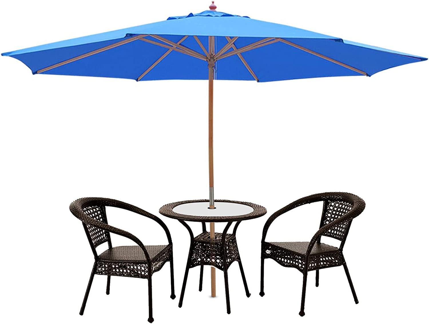 13ft XL Outdoor Patio Umbrella w Beach German Ya Cheap mail All items in the store order specialty store Wood Pole Beech