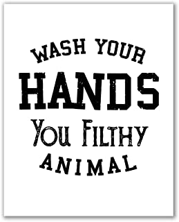 Wash Your Hands Print - 8