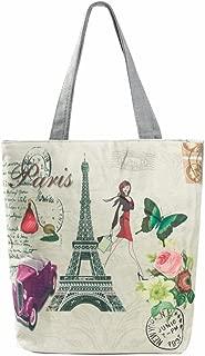 Women Large Canvas Shoulder Bag Handbag Cross-body Bags Cheap Colors for Girl by TOPUNDER YZ