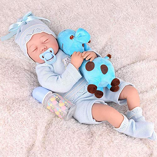 Silicone weighted Realistic Sleeping Reborn Baby Boy Doll