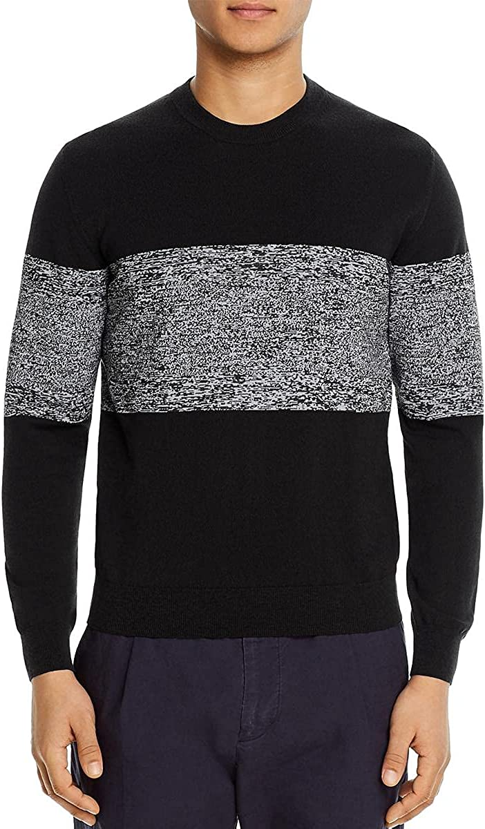 Paul Smith Mens Knit Colorblock Pullover Sweater