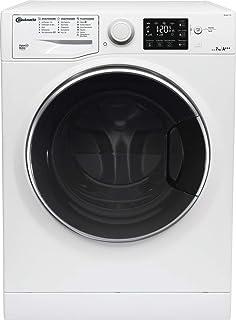 Bauknecht WM Steam 7 100 Waschmaschine Frontlader/A/1400 UpM/7 kg/langlebiger Motor/Antiflecken 100/Dampf-Option pflegt Wäsche hygienisch rein/EcoTech Mengenautomatik