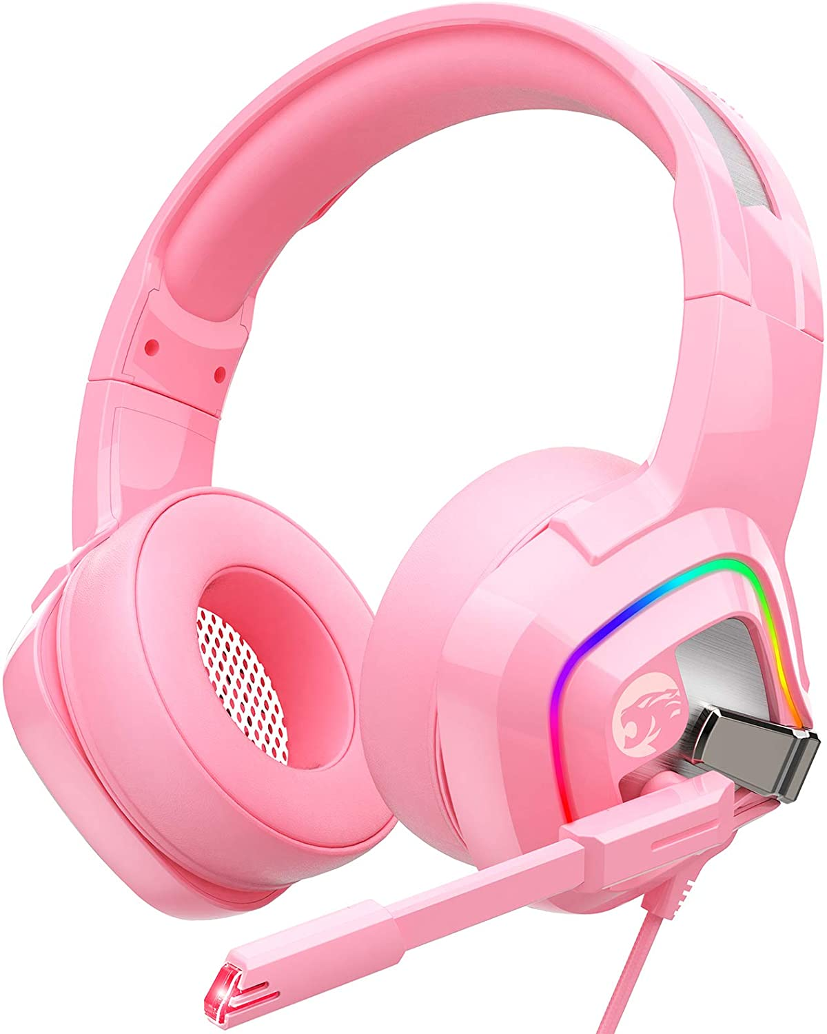 ZIUMIER Z66 Pink Gaming Headset Ranking TOP8 for Ranking TOP8 PC PS4 Xbox PS5 One Wire
