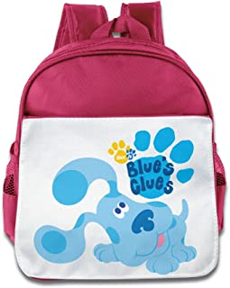 Quasi Blue's Clues Dog Cartoon Custom Children Kids Girls Boys Baby School Bags Book Bags Backpack