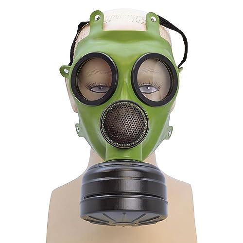 replica gas mask box