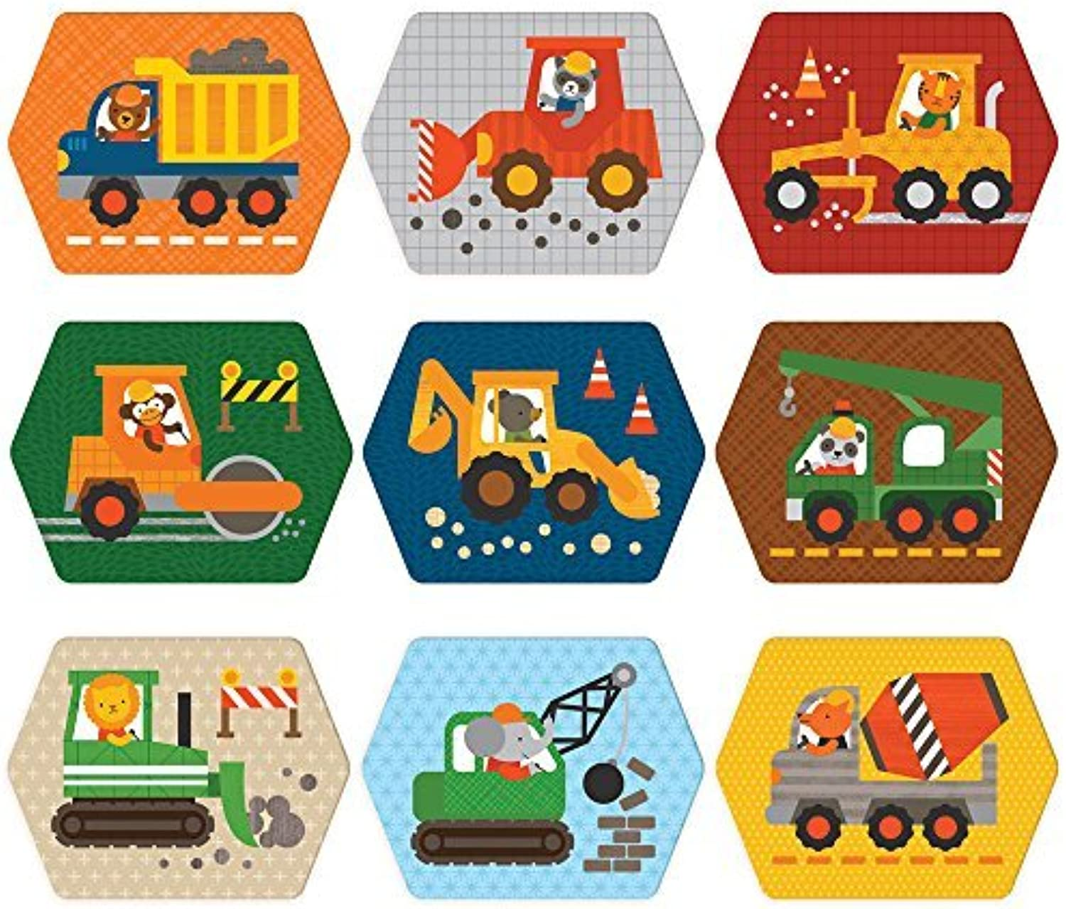 Construction Memory Game by Petit Collage