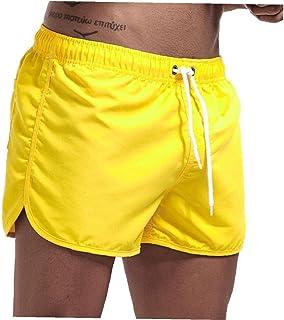 Yililay Men Swimwear Swim Shorts Trunks Beach Board Shorts Swimming Pants Swimsuits Men Running Sports Surffing shorts XL