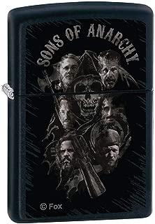 Sons of Anarchy MEN OF MAYHEM Matte Black ZIPPO LIGHTER