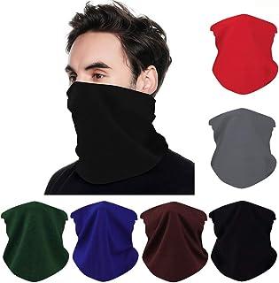 Face Mask 6Pcs Elastic Face Shields Magic Wide Wicking Headbands Outdoor Headwear Bandana Scarf Mask