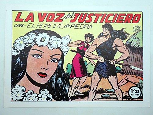 PURK EL HOMBRE DE PIEDRA 28. La Voz Del Justiciero. FACSIMIL