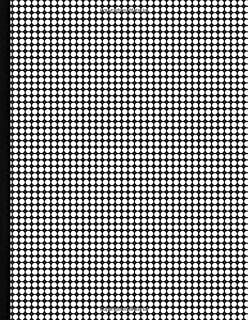 """Krisp Bullet Journal Dot Grid Notebook - 110 Beautiful Classic Cream Paper Pages. 8""""x11"""" Perfect Large Size for Writing, P..."""