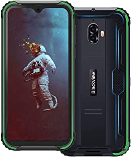 Blackview BV5900, 4G Teléfono Móvil Resistente IP68 Impermeable Robusto 5.7 Inch, 3GB/32GB, 5580mAh Batería, Android 9.0 SIM Doble Smartphone, 13MP+5MP Cámaras, NFC/Face ID/GPS/GLONASS - Verde