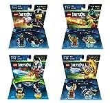 Excalibur Batman + The Lego Movie Bad Cop + Legend Of Chima Eris and Cragger Fun Packs - LEGO Dimensions - Not Machine Specific