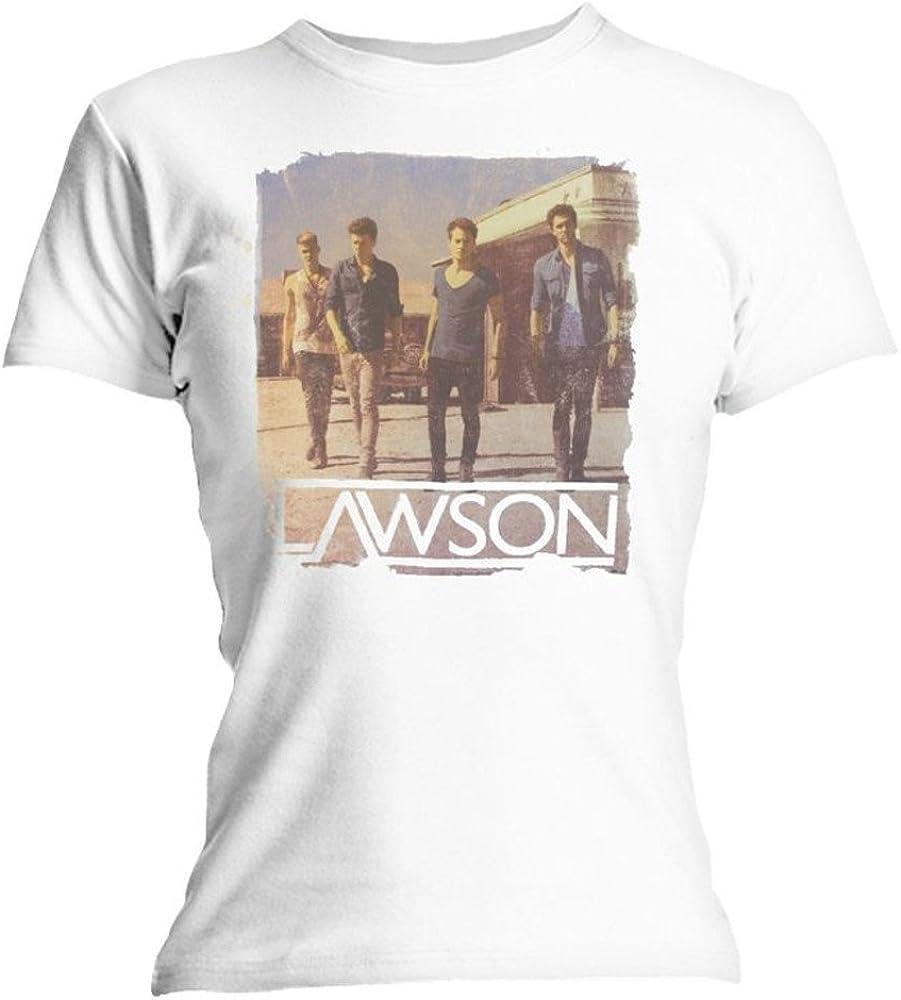LAWSON Womens Band Photo Short Sleeve Maternity T-Shirt
