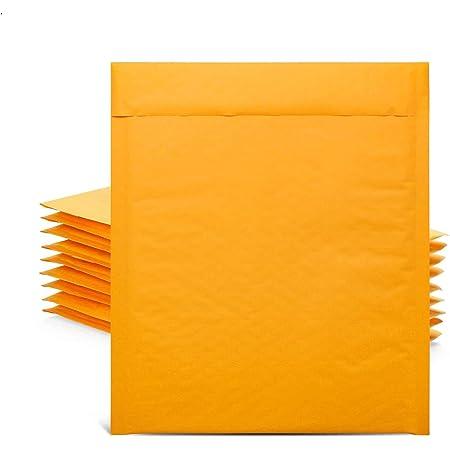 UCGOU 6x10 Natural Kraft Bubble Mailers Self Seal Padded Envelopes 25pcs