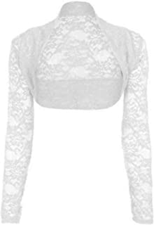 f88f8a67c6ec55 Amazon.com: Whites - Shrugs / Sweaters: Clothing, Shoes & Jewelry