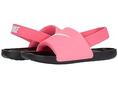 Nike Kids Kawa Slide (Infant/Toddler) (Digital Pink/White/Black) Kids Shoes