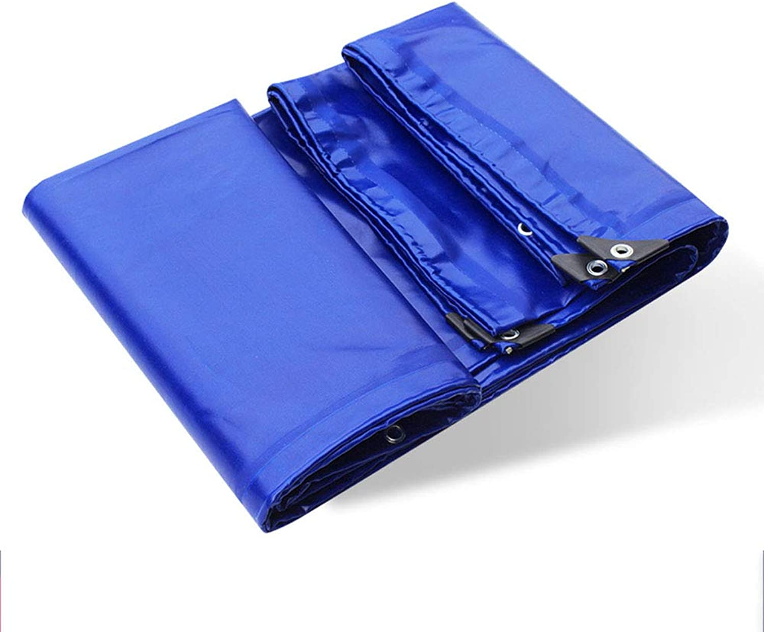 Fireproof Cloth FlameRetardant Cloth Glass Fiber Coated Waterproof Cloth  bluee, Weight 650g   Square