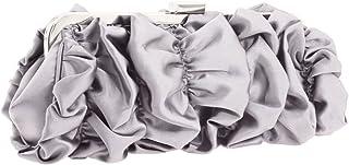حقيبة كلاتش نسائية من جيسيكا مكلينتوك V91024 - فضي