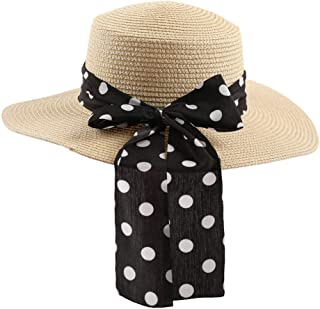 Outdoor Women's sunshad Ladies Fedora Travel Hats Crushable Straw Panama Style Sun Cap