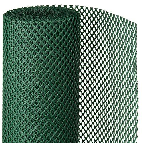 Nature Brise-Vent de Jardin 1x3 m Vert PEHD Filet Brise-Vue Paravent Patio