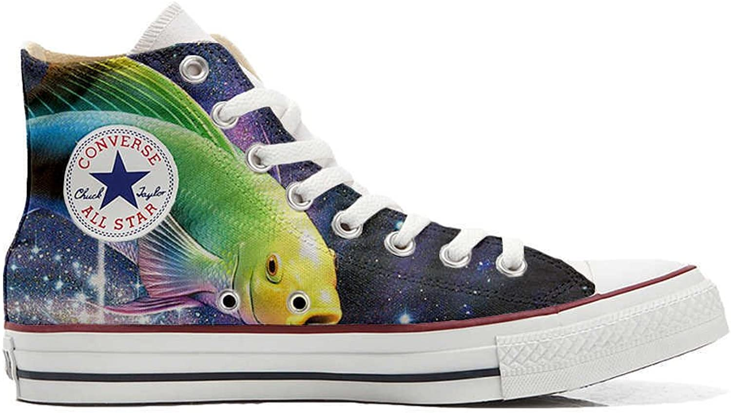 Converse All Star Cutomized Cutomized Cutomized - personalisierte Schuhe (Handwerk Produkt) Sushi B06X6KPBS5  Super Handwerkskunst c43b2c