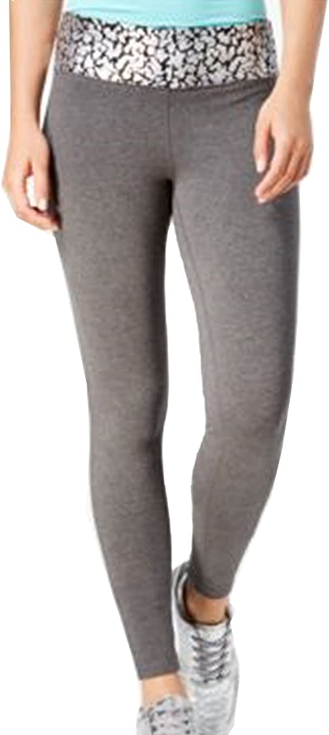 Material Girl Womens Contrast Waist Pull On Athletic Pants