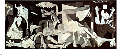 Guernica by Pablo Picasso Art Print, 64 x 32 inches