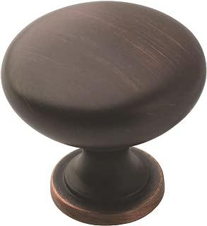 Amerock BP53005ORB Allison Value Cabinet and Furniture Mushroom Knob, Pack of 25, Oil-Rubbed Bronze