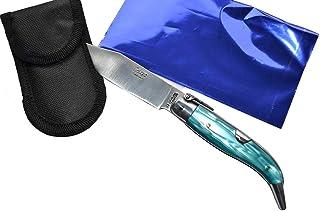 Couteau Celaya Classic Albacete Aluminium Pastora Plastique Bleu Foncé n 2