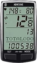 JOYCUNE Bluetooth Bike Computers Wireless Bicycle Speedometer Odometer HR Monitor
