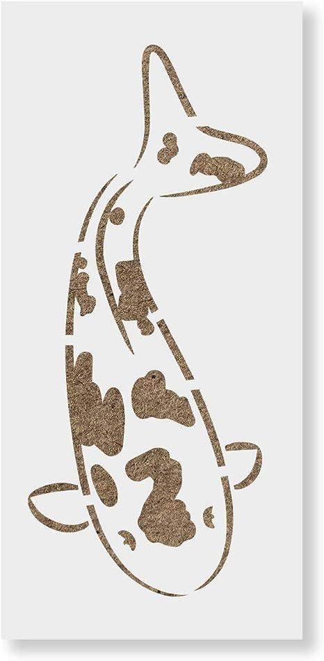 Japanese Koi Tattoo Tee Men/'s Image by Shutterstock