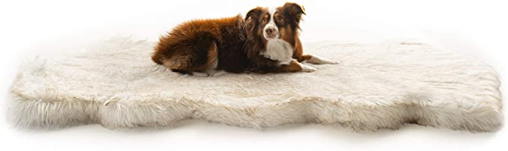 Treat A Dog Puprug Runner Faux Fur Memory Foam Orthopedic Dog Bed, Pressure-Relieving Memory Foam, Minimize Joint Pain and Improve A Dog's Health and Mobility (Multiple Styles)